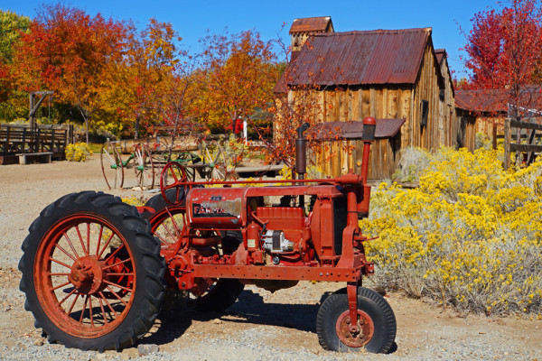 Bartley Ranch Tractor