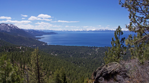 Tahoe Coming into View