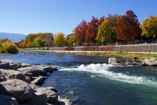 Autumn Along the Truckee River