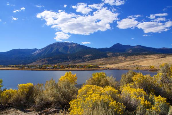 Autumn at Upper Washoe Lake