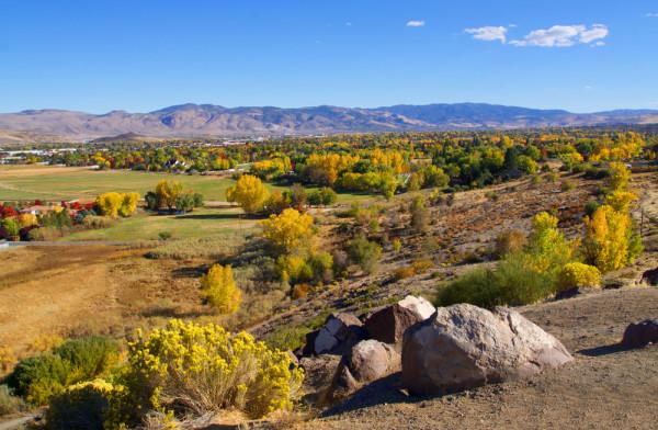 Autumn in Reno