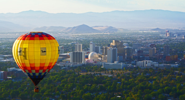 Floating Over Reno